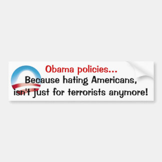Obama-Politik Autosticker