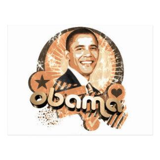 Obama Postkarte