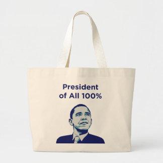 Obama: Präsident aller 100% Tasche
