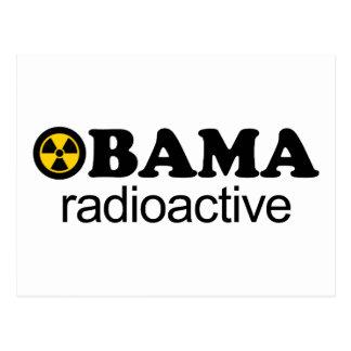 Obama radioaktiv postkarte