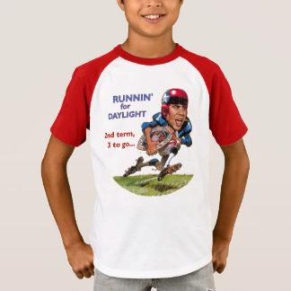 Obama runnin für Tageslicht T-Shirt