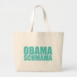 Obama Schmama Jumbo Stoffbeutel