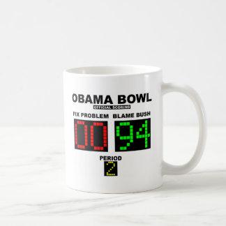 Obama-Schüssel - offizielles Zählen Kaffeetasse