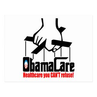 Obama-Sorgfalt: Gesundheitswesen, das Sie nicht Postkarte