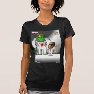 Obama-Sorgfalt in ICU T-Shirt
