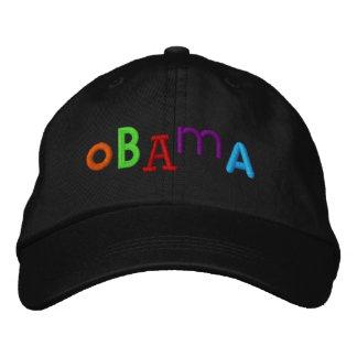 OBAMA stickte Hut