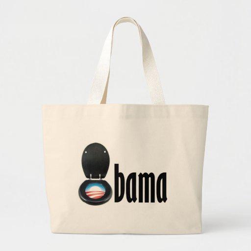 Obama (Toilette) Leinentasche