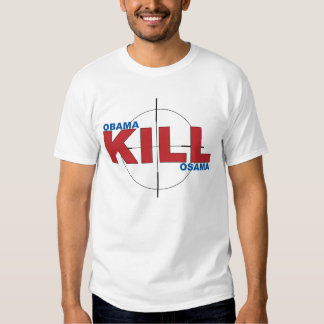 Obama-Tötung Osama Hemden