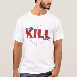 Obama-Tötung Osama T-Shirt
