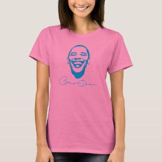 Obama-Unterzeichnungs-ansteckender Lächeln-T - T-Shirt