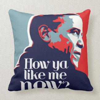 Obama: Wie Sie mich jetzt mögen Kissen