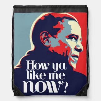 Obama: Wie Sie mich jetzt mögen Turnbeutel