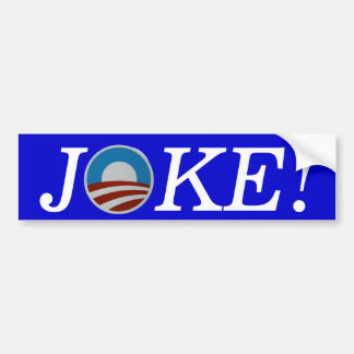 Obama-WITZ! Autoaufkleber