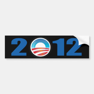 ObamaAutoaufkleber 2012 Autoaufkleber
