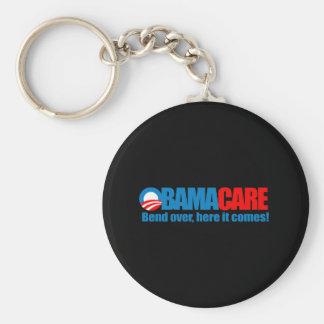 Obamacare - Biegung hierhin kommt sie Schlüsselanhänger