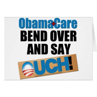 ObamaCare: Biegung vorbei Karte