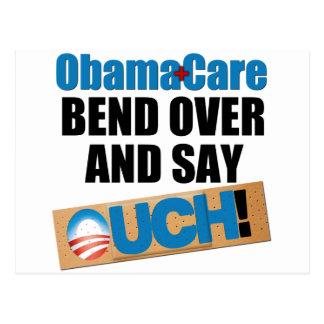 ObamaCare: Biegung vorbei Postkarte