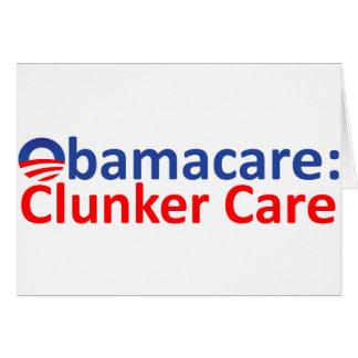 Obamacare: Clunker-Sorgfalt Karte