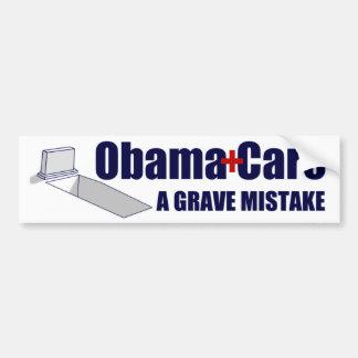 ObamaCare: Ein ernster Fehler Autoaufkleber
