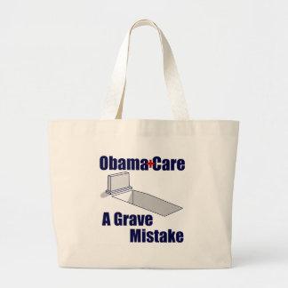 ObamaCare: Ein ernster Fehler Leinentaschen