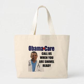 ObamaCare - Schaufel bereit Einkaufstaschen