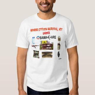 OBAMACARE ÜBERLEBENSAUSRÜSTUNG T-Shirts