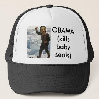 Obamaclubbing ein Siegel, OBAMA Truckerkappe