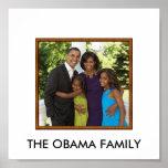 obamafamily DIE OBAMA-FAMILIE Plakat