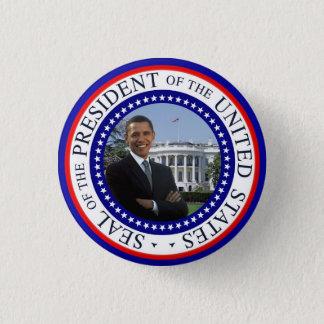 Obamaminiknopf - rotes weißes und blau runder button 2,5 cm