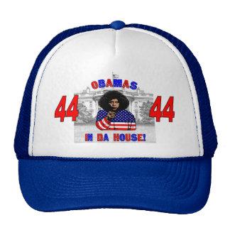 Obamas im DA-Haus-Hut Trucker Mütze
