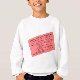 Obamas Kündigungsschreiben Sweatshirt