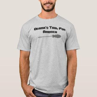 Obamas Werkzeug für Amerika T-Shirt