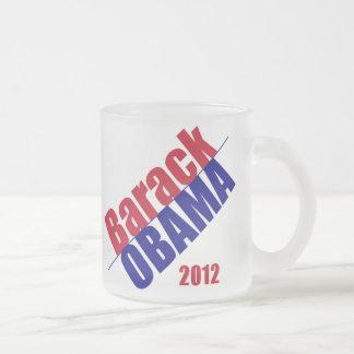 ObamaTasse 2012 Matte Glastasse