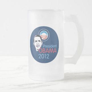 ObamaTasse 2012 Mattglas Bierglas