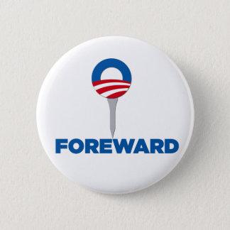 ObamavorwärtsParodieknopf Runder Button 5,7 Cm