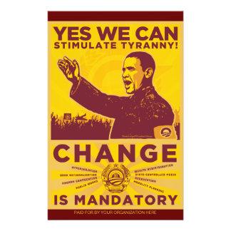 Obamunist Ereignis-Flyer