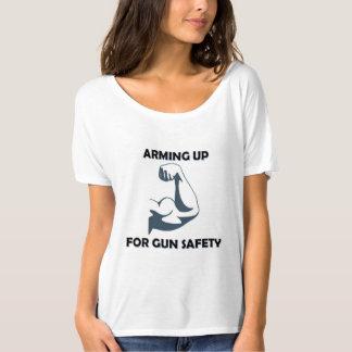 Oben bewaffnen für Gewehr-Sicherheits-T - Shirt