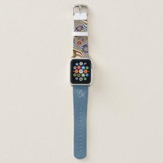 Oben fliegen, buntes, modernes, abstraktes apple watch armband