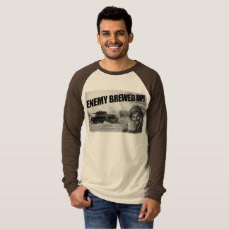 Oben gebraut! Sleeved Shirt, Welt der Behälter T-Shirt