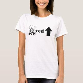oben geklopft T-Shirt