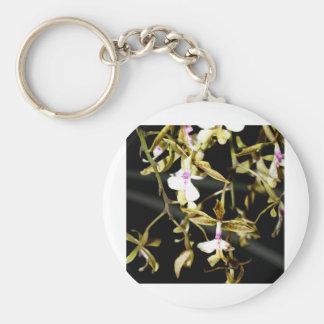 oben geschlossen von der Orchideen-Blume Schlüsselanhänger