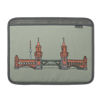 Oberbaum Brücke in Berlin MacBook Air Sleeve