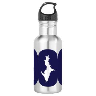 Obere Wasser-Flasche der Halbinsel-906 (blaues Edelstahlflasche