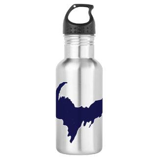 Obere Wasser-Flasche der Halbinsel-(blaues Logo) Trinkflasche