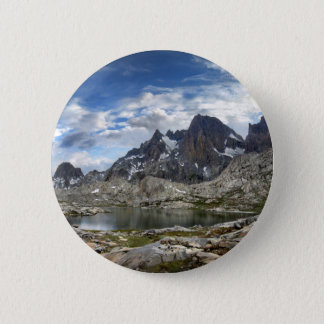 Oberes und mittleres Nydiver See-Panorama - Sierra Runder Button 5,1 Cm