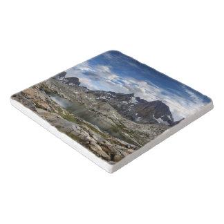Oberes und mittleres Nydiver See-Panorama - Sierra Töpfeuntersetzer