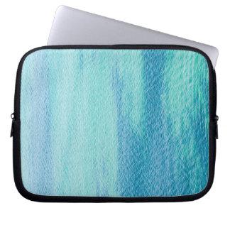 Oberflächenmeerwasser Laptop Sleeve