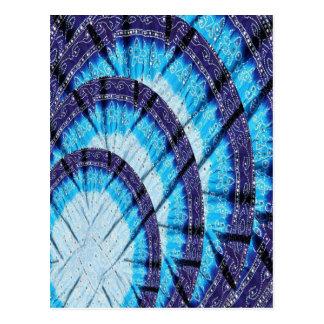 Oberlicht-Kirchen-Fenster Havenly blaue Postkarte