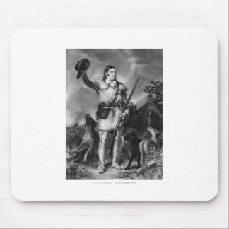 Oberst Davy Crockett Mousepad