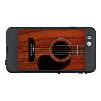 Oberste Mahagoniakustikgitarre LifeProof NÜÜD iPhone 6 Hülle